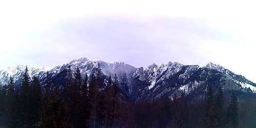 Webcam Brasov - Mountain peaks in the vicinity