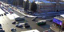 Webcam Novosibirsk - Museum of the History of the Siberian Military District