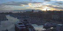 Webcam Marseille - The promenade, yachts, Ferris wheel