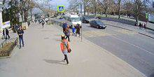 Webcam Sevastopol - Transport stop Nakhimova Square