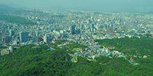 Webcam Seoul - The view from Namsan tower