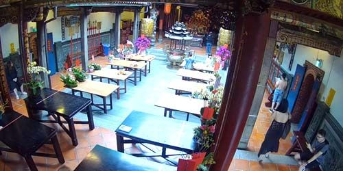 Webcam Taichung (island of Taiwan) - Nantong Wanhe Temple