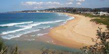 Webcam Sydney - The beach in the village of Narrabeen