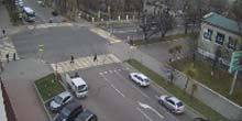 Webcam Ussuriysk - Crossroads of Nekrasov and Chicherin streets