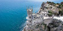Webcam Yalta - Swallow's Nest - castle on the rock