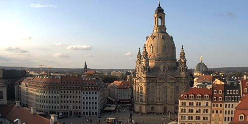 Webcam Dresden - Neumarkt square, Frauenkirche church