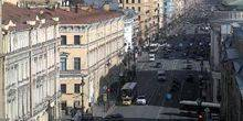 Webcam Saint Petersburg - Nevsky prospect