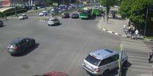 Webcam Kharkov - Crossroads of Science Avenue and st. Novgorodskaya