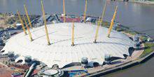 Webcam London - The Millennium Dome