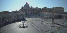 The obelisk in St. Peter's square at the Vatican Рим