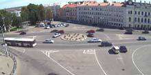 Webcam Pskov - October Square, mail view