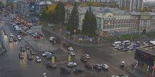 Webcam Novosibirsk - House of officers on the Red Avenue