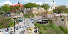 Webcam Kamianets-Podilskyi - The entrance to the old part of town