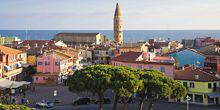 Webcam Caorle - Panorama of the ancient streets