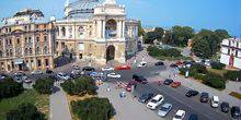 Webcam Odessa - The area in front of the Opera house
