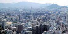 Panorama from above Hiroshima