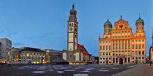 Webcam Augsburg - Review panorama