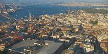 Panorama from height Istanbul