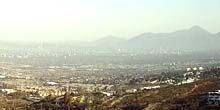 Webcam Santiago - Panorama from above