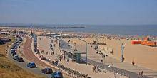 Webcam Hague - Panorama of the sea Scheveningen