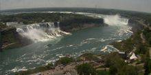 Webcam Niagara Falls - Valley of the falls of Niagara
