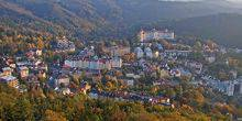 Webcam Karlovy Vary - Panorama from height