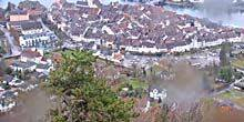 Panorama from height Stein am rhein