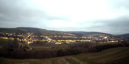 Webcam Ugerski-Brod - Panorama from above