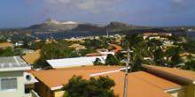 Webcam Willemstad - Panorama from the height of the island of Curacao
