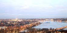 Webcam Stockholm - Panorama from a height