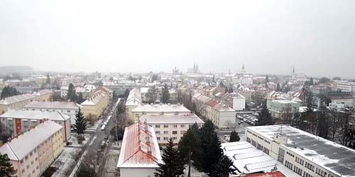 Webcam Kromeriz - Panorama from above