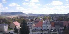 Webcam Klodzko - Panorama of the surroundings from above
