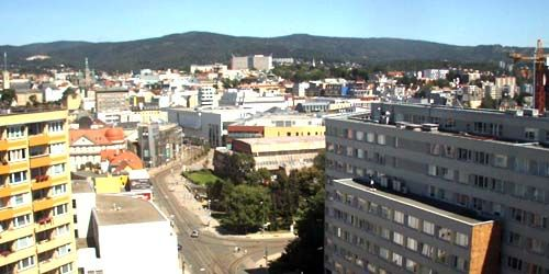 Webcam Liberec - Panorama from above