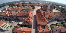 Webcam Sandomierz - Panorama from height