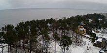 Webcam Jurmala - Panorama of the coast from the