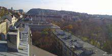 Panorama from height Budapest