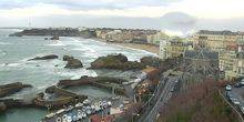 Panorama from height Biarritz