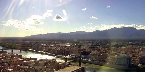 Webcam Tortosa - Panorama from above