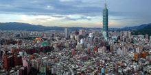Webcam Taipei - Panorama from height