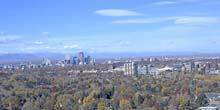 Panorama from height Denver