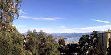 Webcam Ajaccio (Corsica Island) - Panorama from height