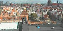 Webcam Gdansk - Panorama from height
