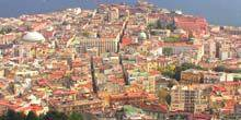 Panorama from height Naples