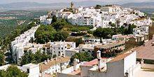 Panorama from height Vejer de La Frontera