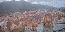 Panorama from height Brasov