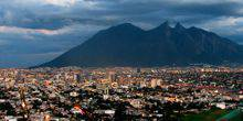 The view from the top of the Park Cumbres Monterrey