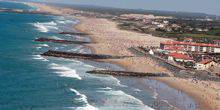 Webcam Anglet - Panorama of the coastal zone