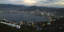 Panorama of the mountains and the Gulf Acapulco