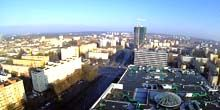 Webcam Szczecin - Panorama from above, Liberation Street
