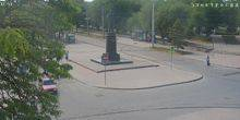 Webcam Evpatoria - A panorama at the Theater Square
